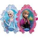 Balon Folie Figurina Anna si Elsa Frozen, Amscan, 63x78 cm, 28162