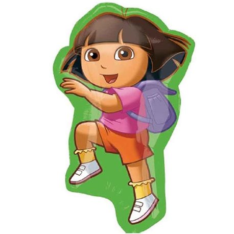 Dora the Explorer Foil Supershape Balloon, 22927