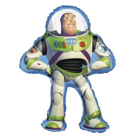 Toy Story Party Buzz Lightyear Supershape Foil Balloon, 135x102cm, 22928ST