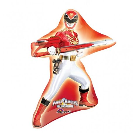 Balon Folie Figurina Power Rangers Mega Force, Amscan, 60 x 81 cm, 27734
