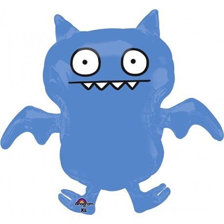 Ugly Dolls Ice Bat SuperShape Foil Balloon, Amscan, 74x69 cm, 110572