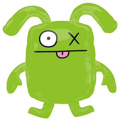 Ugly Dolls Classic Ox SuperShape Foil Balloon, 66x66 cm, 110571