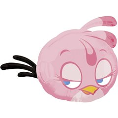 Angry Birds Pink Bird SuperShape Foil Balloon, 48x61 cm, 27022