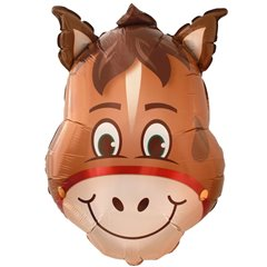 Horse Head SuperShape Foil Balloon, 82 cm, 41369