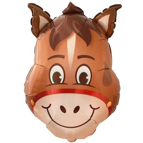 Horse Head SuperShape Foil Balloon, 82 cm, 41369