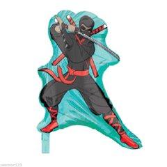 Balon Folie Figurina Ninja, 24776