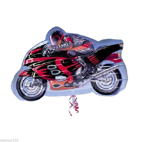 Balon Folie Figurina Sport Motorcycle, 24773ST