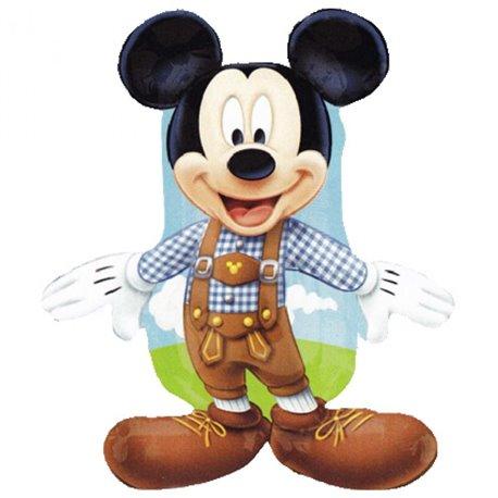 Balon Folie Figurina Mickey Mouse Lederhosen, 95 cm, 27389st