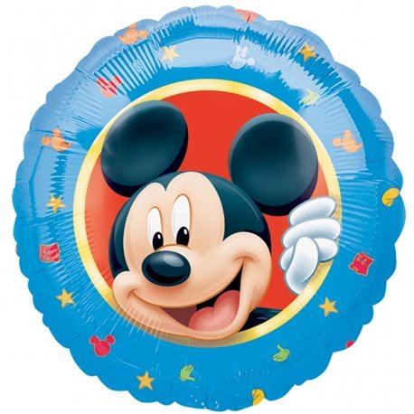 "Mickey Mouse - Character Foil Balloon - 18""/45cm, Amscan 1095801"
