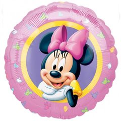 "Minnie Mouse Foil Balloon - 18""/45cm, Amscan 1095901"