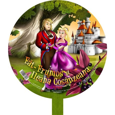 Balon Folie 45 cm Fat Frumos si Ileana Cosanzeana Folie45LMA