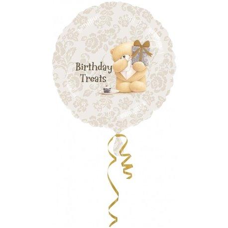 """Forever Friends Birthday Foil Balloon - 18""""/45cm, Amscan 21491"""