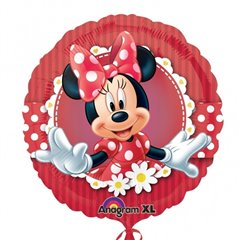 Mad About Minnie Foil Balloon, Amscan, 45 cm, 24813