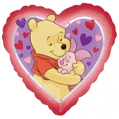 Balon Folie 45 cm Pooh Love Hug 23040