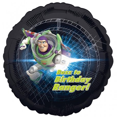 Toy Story Buzz Too Birthday Ranger Balloon, 45 cm, 24158