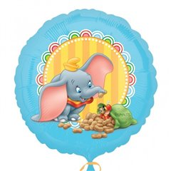 Balon folie 45cm elefantelul Dumbo, Amscan 25370