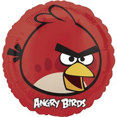 Balon folie 45cm Red Bird, Angry Birds, Amscan 25770