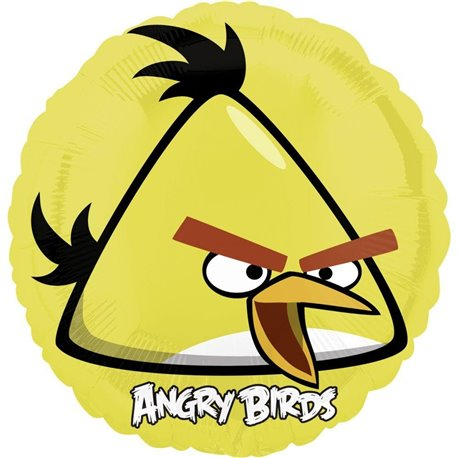 Balon Folie 45 cm Yellow Bird, Angry Birds 25772