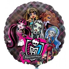 Monster High See-Thru Foil Balloon, 66 cm, 26231