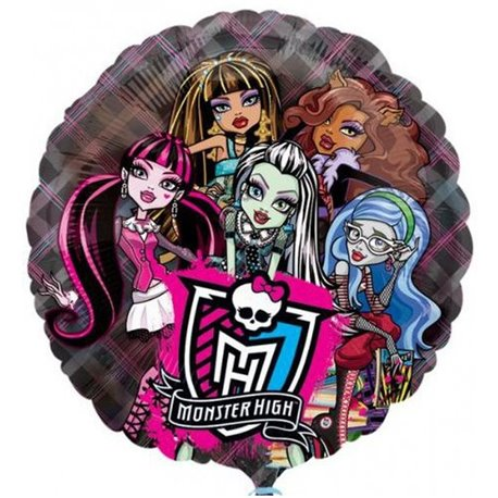 Balon Folie 45 cm Monster High, 66 cm, 26231