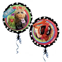Balon folie 45cm The Muppets, Amscan 24837