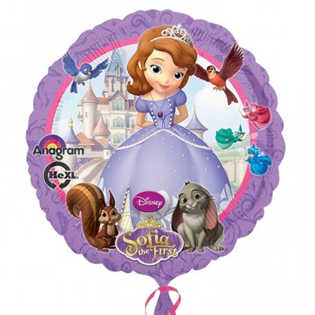 Disney Sofia The First Standard Foil Balloon, Amscan, 45 cm, 27529