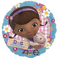 Balon folie 45cm Doc McStuffins Doctorita Plusica, Amscan 27533