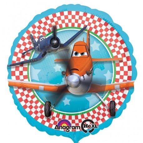 Balon Folie 45 cm Avioane, Amscan 27413
