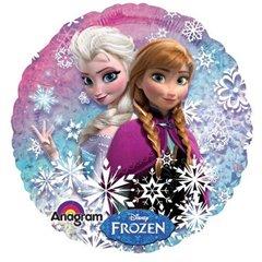 Balon Folie 55 cm Holografic Frozen, Amscan 27552
