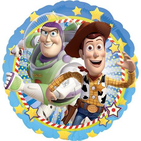 Balon Folie 45 cm Toy Story Woody & Buzz 26357