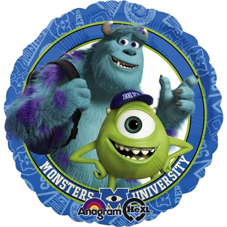 Balon Folie 45 cm Monsters University, Amscan 27154
