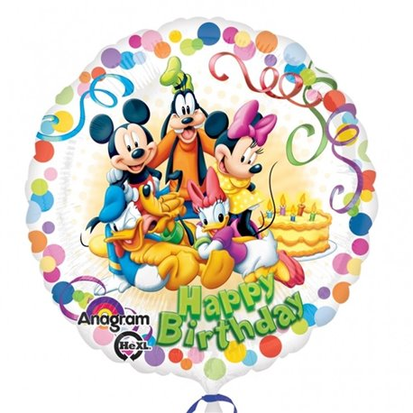 Mickey Mouse & Friends Party - Foil Balloons, Amscan, 45 cm, 29007