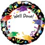 "Balon Folie 45 cm ""Well Done"" 97333"