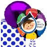 "Miss Smarty Pants Foil Balloon - 18""/45cm, Amscan 15355"