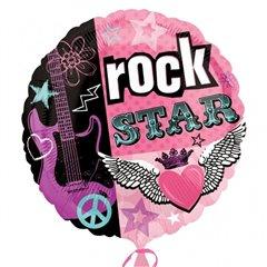 Balon folie 45cm Rock Star, Amscan 119627
