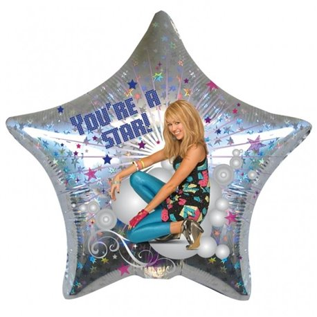 "Hanna Montana - You're a star Foil Balloon - 18""/45cm, Amscan 17841"