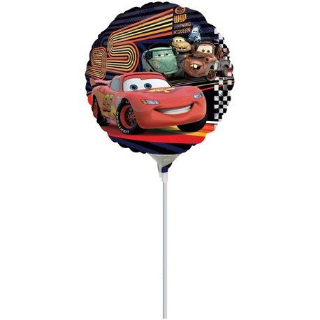 Balon Mini Folie Masini, Amscan, 23 cm, 22305