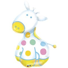 Balon Mini Folie Figurina Girafa, Qualatex, 32932
