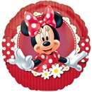 Balon Mini Folie Minnie Mouse, Amscan, 23 cm, 24820