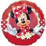 "Minnie Mouse Red Polka Dot Mad About Minnie Mini Foil Balloons on Sticks, Amscan, 9"", 24820"