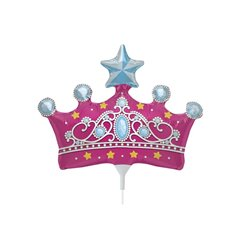 "Princess Crown Party Foil Balloon, Northstar Balloons, 14"", 00815"
