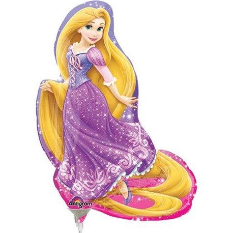 "Rapunzel Mini Shape Balloon, Amscan, 9"", 26440"