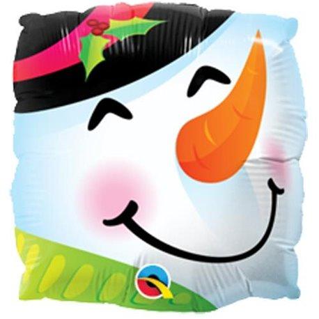 Balon Folie Mini Cap Om de Zapada, Qualatex, 23 cm, 201304