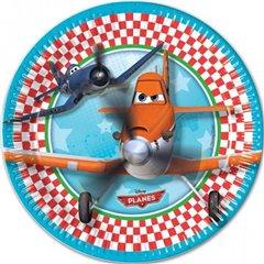 Balon mini folie avioane - 23cm, umflat + bat si rozeta, Amscan 27949