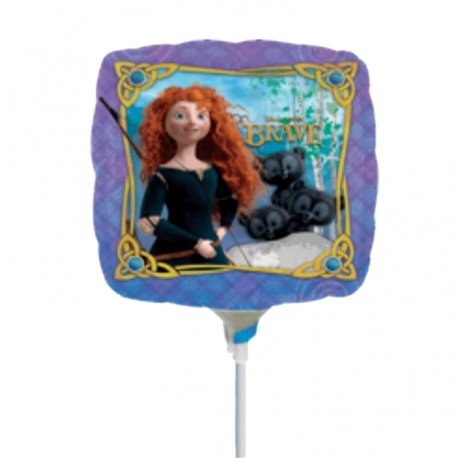 "Disney Brave Mini Air Filled Foil Balloons, 9"", 24836"