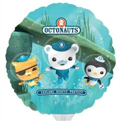Octonauts Mini Foil Balloons on Sticks, 25679