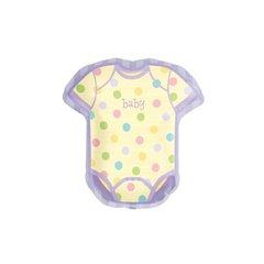 "Baby Things Onesie Shape Foil Balloon, Amscan, 22"" x 24"", 114536"