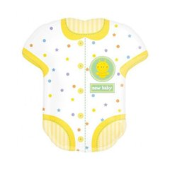 "Baby Onesie Supershape, Amscan, 24"" x 22"", 18060"