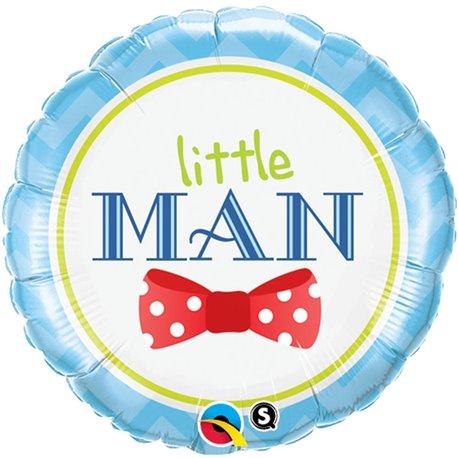 """Little Man Bow Tie Foil Balloon, Qualatex, 18"""", 13958"""