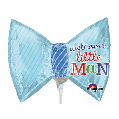 "Balon Folie Mini-Figurina Papion Little Prince - 9""/23cm, Amscan 2886402"
